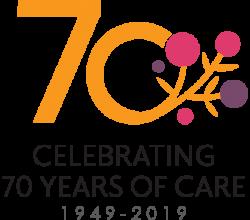 70 years logo